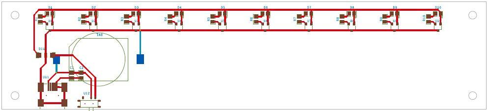 多维科技 液位龙8娱乐电脑版演示模块pcb版图